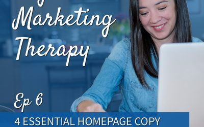 Ep 6 | 4 Essential Homepage Copy Tips with Storybrand Certified Writer, Sarah Cook