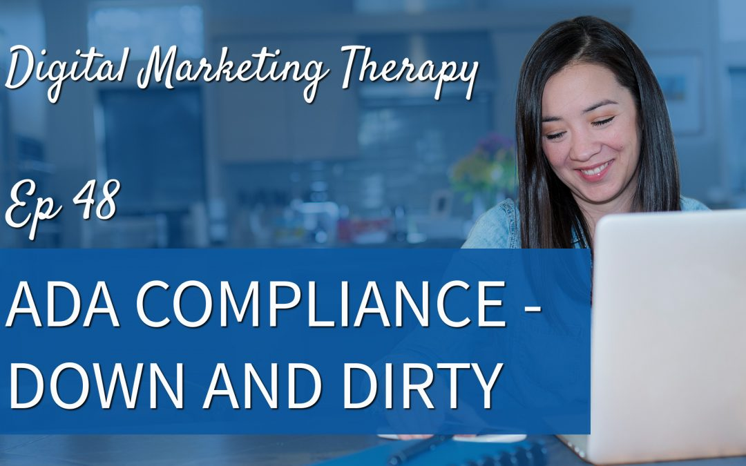 Ep 48 | ADA Compliance – Down and Dirty