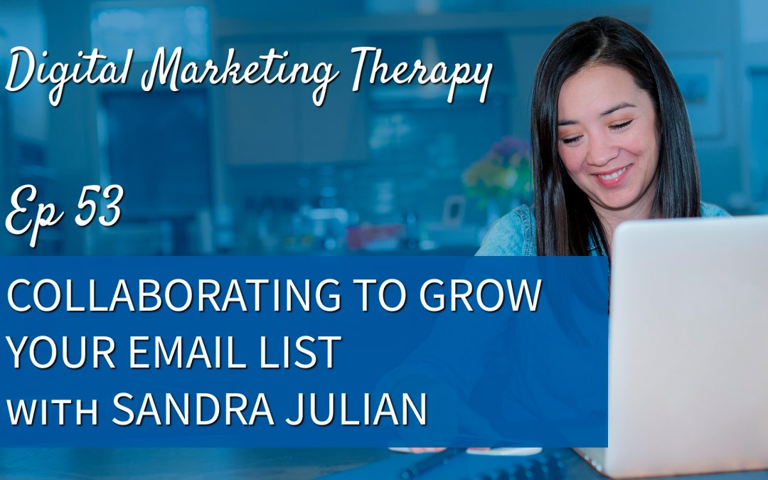 Ep 53 | Collaborating to Grow Your Email List with Sandra Julian
